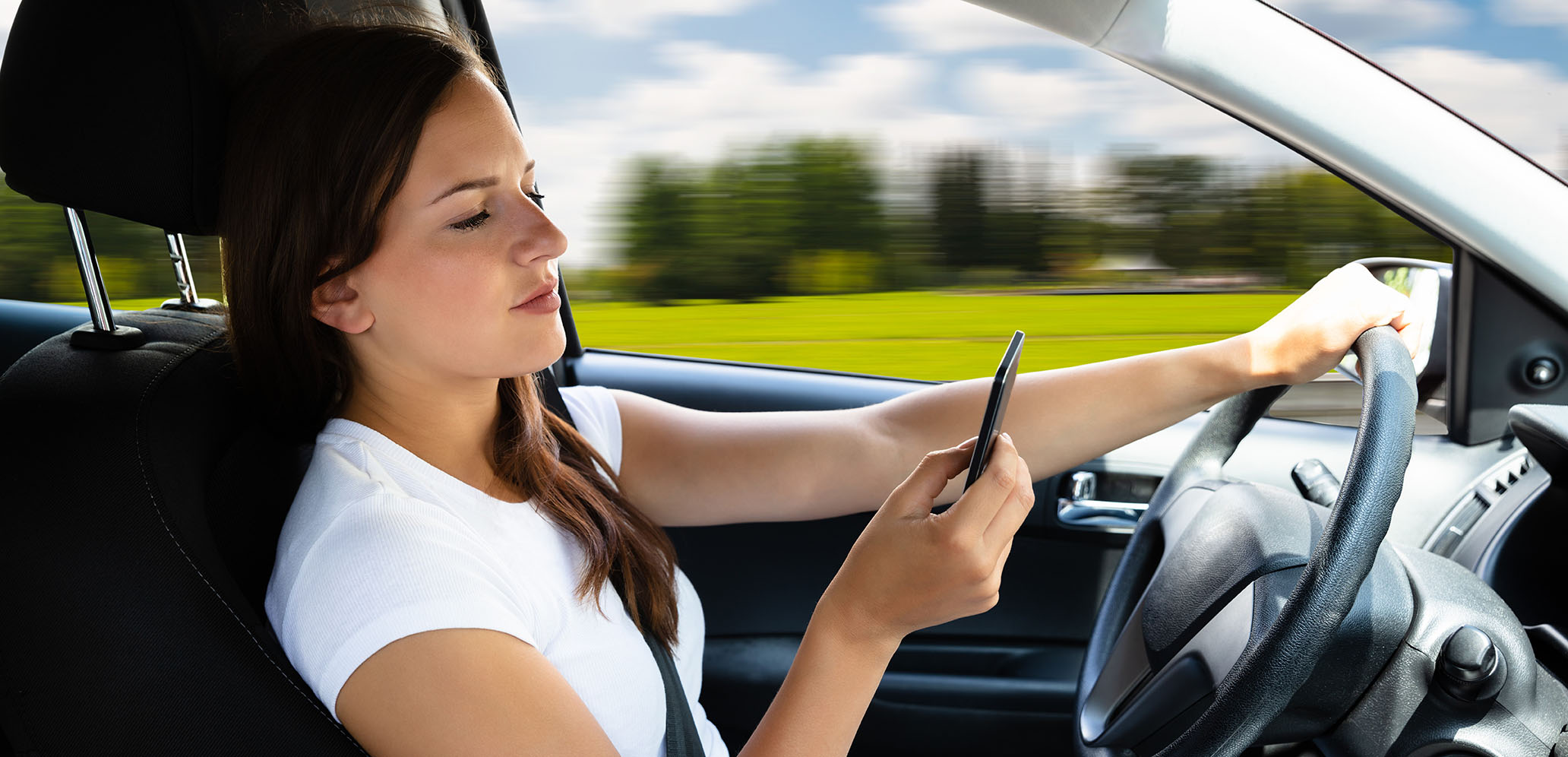 texting while driving