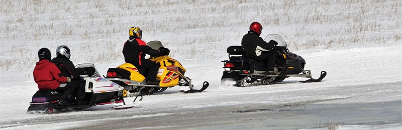 snowmobiling in NH