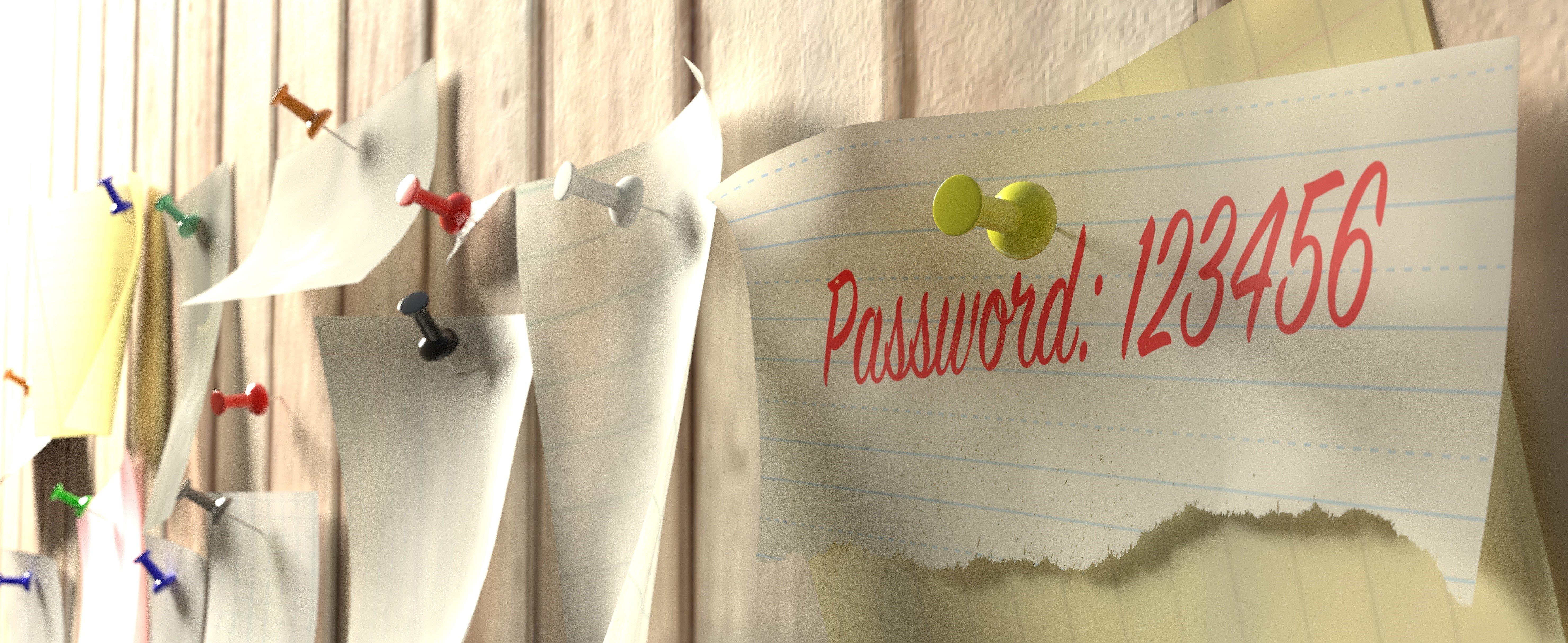 Image of easy password